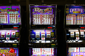 Examples of Slot Machines in Their Natural Habitat - A Casino