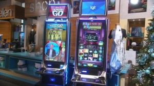Skill-based slots machines featured at 2014 G2E