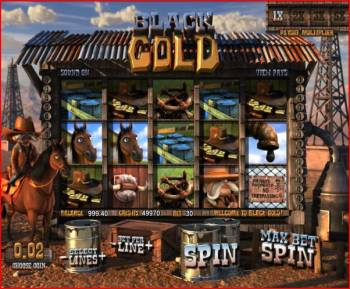 Black Gold Slots Screenshot