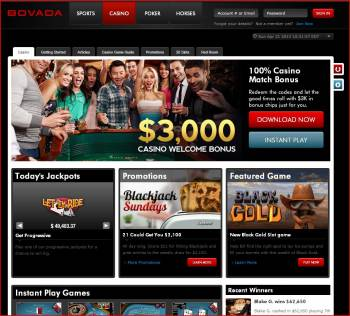 Bovada Casino Slot Machines Screenshot