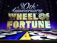 The Wheel of Fortune 30th Anniversary Logo